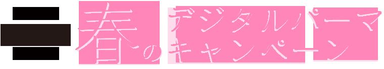 春のデジタルパーマキャンペーン デジタルパーマ パーマ デジパ 形状記憶 パーマスタイリング ストレート ショート シャンプー セット スタイリング剤 違い 縮毛矯正 エアウェーブ コールドパーマ カラー 痛み 岐阜 AZURA BLANCO