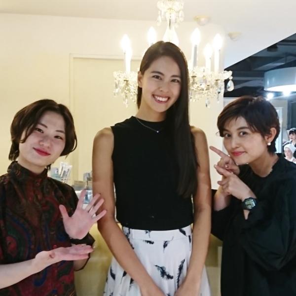 2017 ミスユニバース 日本代表 阿部桃子 BLANCO青山