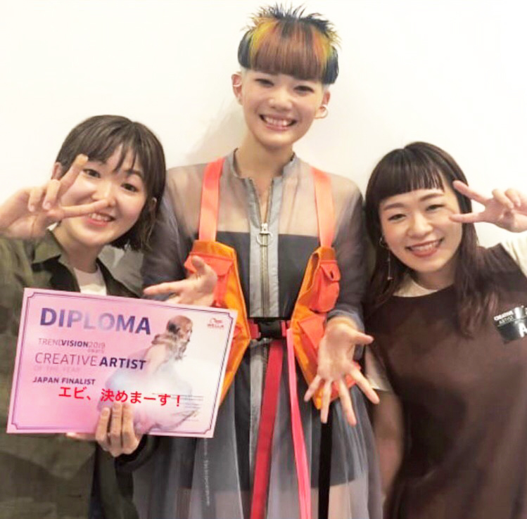 WELLA TREND VISION award 2019 AREA FINAL通過!